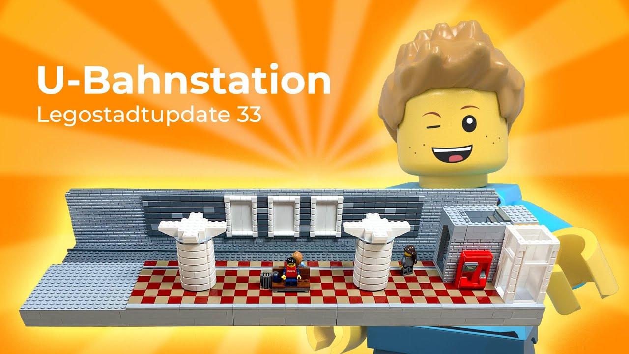 Lego-Stadt (Teil 33) Weiter geht's an der U-Bahn! – U-Bahn Teil 2
