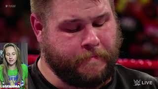 WWE Raw 8/27/18 Kevin Owens Quits