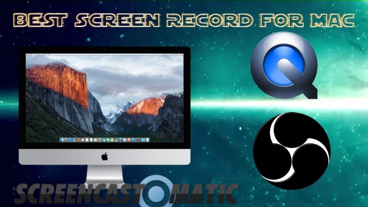 Free screencast for mac