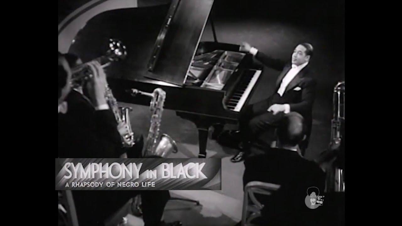 Symphony In Black - A Rhapsody of Negro Life (1935) | Duke Ellington & Billie Holiday