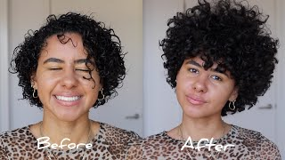 Easy & Detailed Curly Hair Wash n' Go Routine!