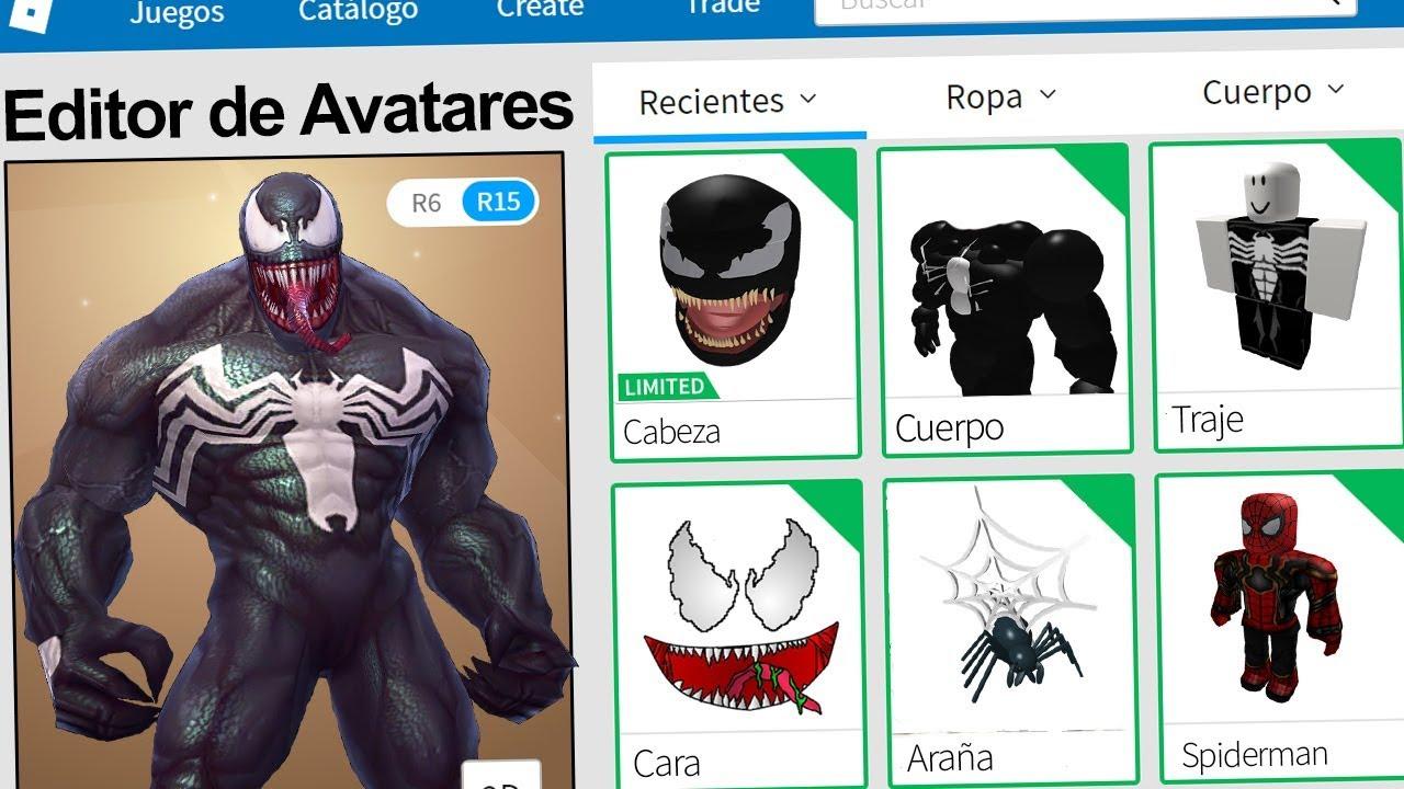 Creamos El Perfil De Venom En Roblox Rovi23 Roblox Youtube