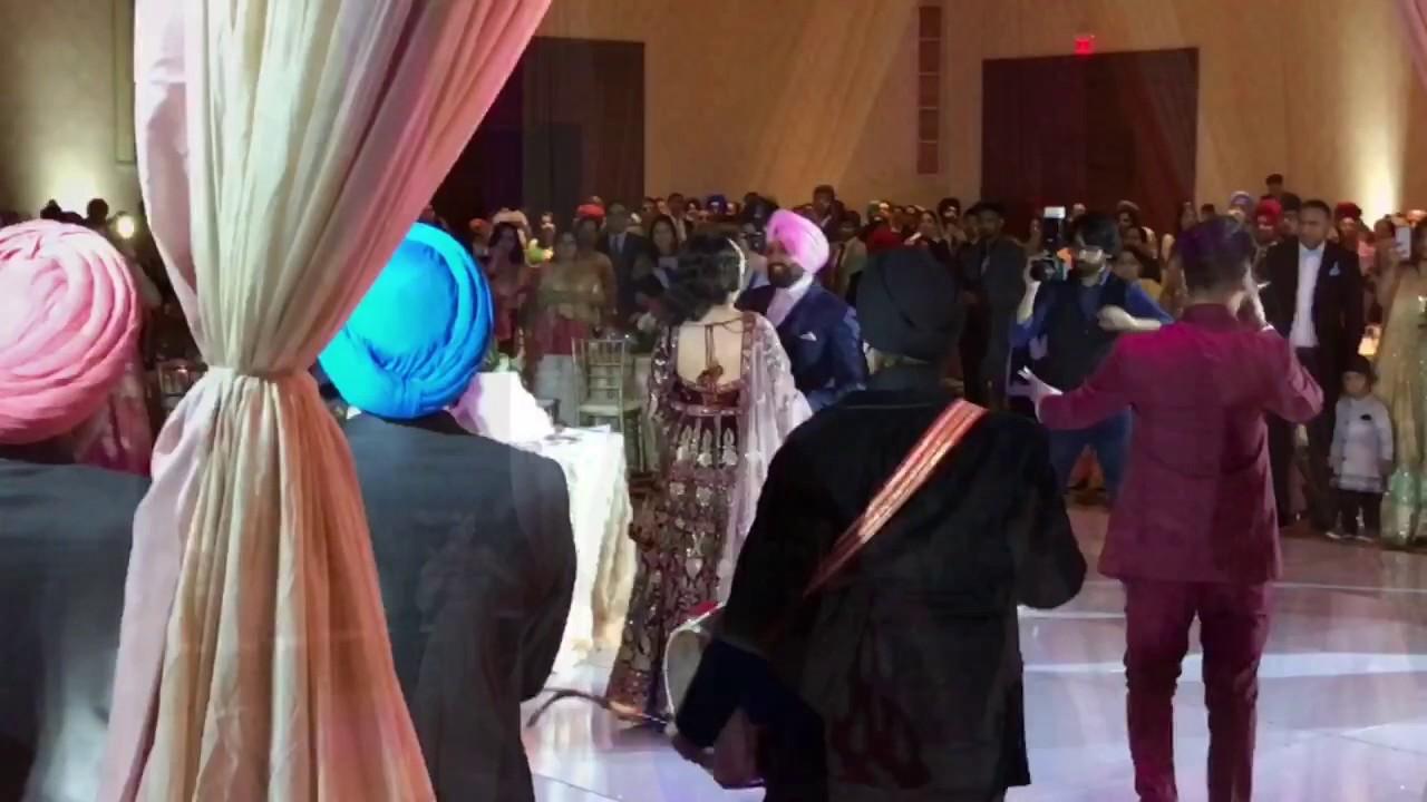 Prabhjot Navdeep Wedding Reception Grand Rapids Mi July 07 2017