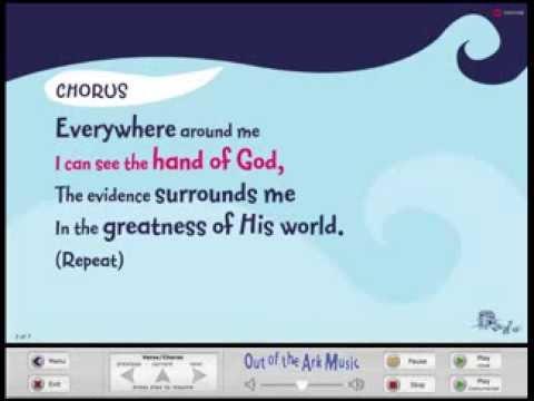 Everywhere Around Me - Words on Screen™ Original