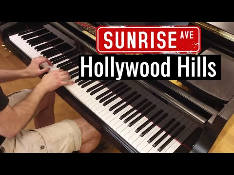 Sunrise Avenue - Hollywood Hills. Piano cover by Lucky Piano Bar (Eugene Alexeev)