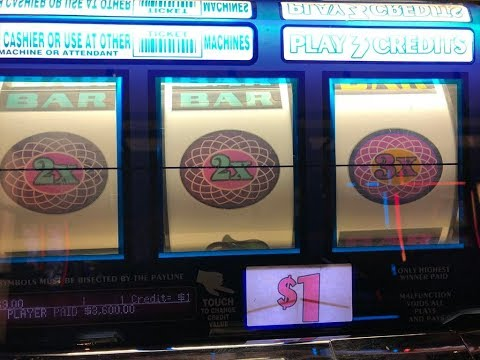 ★JACKPOT!Lucky Day★WHITE ICE $1 Slot Machine And Triple Double Star 7 Slot, San Maniel, Akafuji Slot