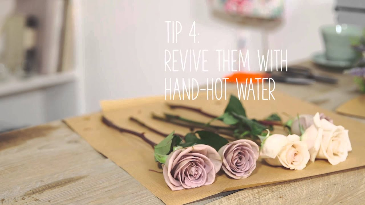 Simple Solutions Make Flowers Last Longer