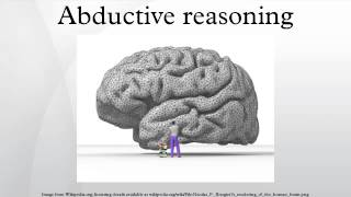 Abductive reasoning