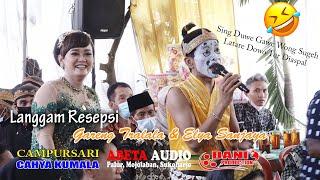 Langgam Resepsi - Gareng Tralala & Elya Sanjaya - CAHYA KUMALA Live Planggu Trucuk - Abeta Audio