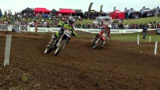 EMX 125 Round of Great Britain Race 1 Highlights