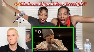 Eminem Biggest Ever Freestyle In The World! - Westwood REACTION