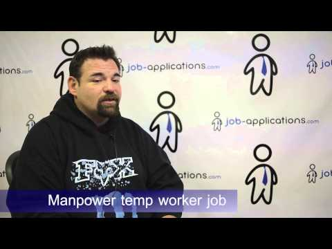 Manpower Interview - Temp Worker