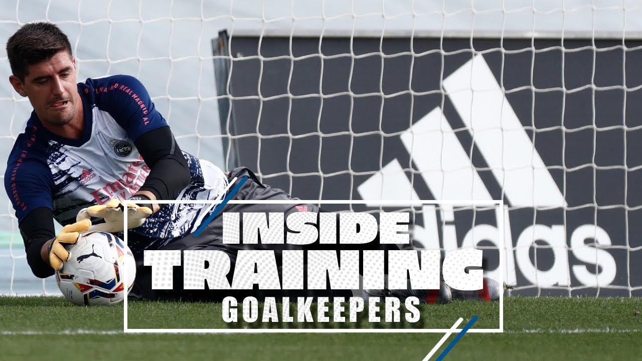 🧤 Courtois, Altube & Lunin   Train like a Real Madrid goalkeeper!