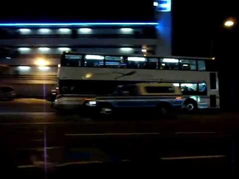 BC Transit - Victoria Regional Transit System Double Decker bus action