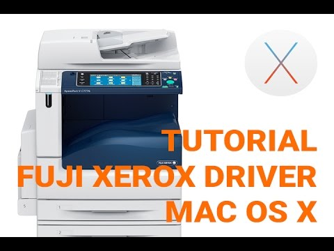 How to setup FUJI XEROX Printer for MAC OS X