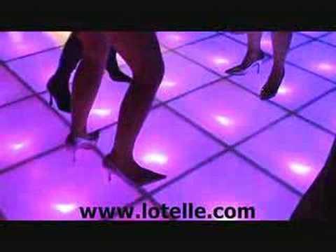 LED New York Style Disco Dance Floor