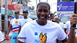 Videoclip Antorcha Juegos Nacionales 2018 Recorrido Santo Domingo Este