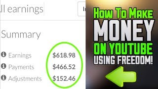 How To Make Money On YouTube!! (Best Way)