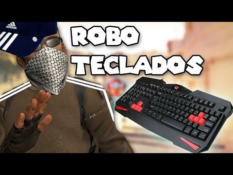 ROBANDO TECLADOS REDRAGON | CS:GO DE RISAS