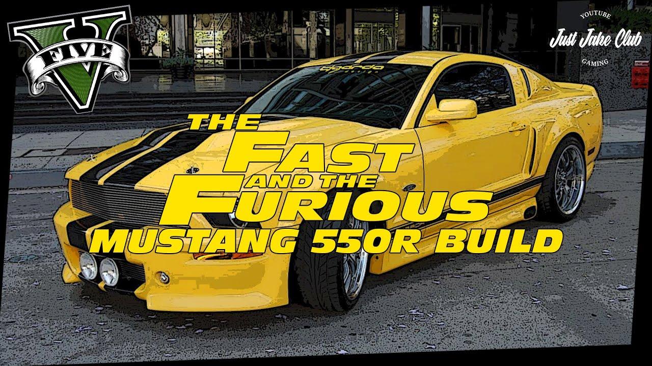 FAST & FURIOUS 4: FORD MUSTANG 550R CUSTOM CAR BUILD