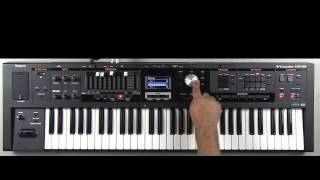 Roland VR-09 - Selecting/ Playing Rhythm Patterns