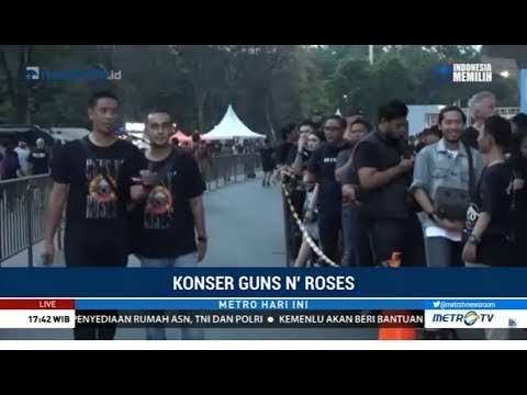 Suasana Jelang Konser Guns N' Roses di SUGBK Mp3