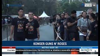 suasana jelang konser guns n roses di sugbk