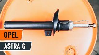 Kuinka vaihtaa Öljynsuodatin OPEL ASTRA G Hatchback (F48_, F08_) - ilmaiseksi video verkossa