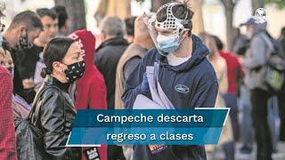 El gobernador de la entidad manifestó que seguirán siendo cuidadosos en cuanto al desenvolvimiento de la pandemia y por ello, las clases de manera presencial todavía no se autorizarán