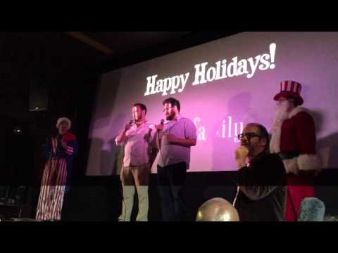 """Seth Rogen at """"Interview"""" opening at Cinefamily"""