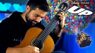 "Pixar's UP - ""Married Life"" Classical Guitar Cover (Beyond The Guitar)"