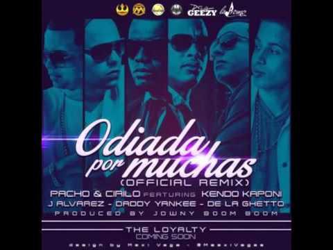 Odiada Por Muchas (Remix) [instrumental] Pacho & Cirilo Ft. Kendo Kaponi, J Alvarez, DY