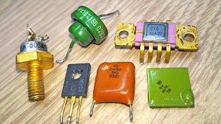 Эти радиодетали собирают для извлечения золота палладия платины и серебра.