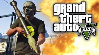 GTA 5 UNLIMITED #12 - GUNS, KNIVES AND EXPLOSIONS! (GTA V Online)