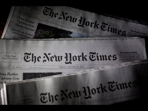 BREAKING: Project Veritas Debuts a NEW Video EXPOSING The New York Times; The Times RESPOND!!!