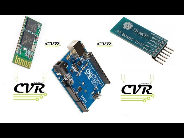 Configurar HC05 o HC06 en menos de 1minuto  ---**CVR electronic**---