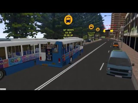 Omsi 2 tour (640) Sydney bus 169 Narraweena - Dee Why - Manly Wharf @ MB O405  澳洲悉尼