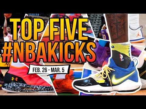 Top 5 Sneakers Worn in the NBA (Feb. 26 - March 5.) | #NBAKICKS thumbnail