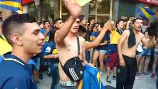 Los hinchas de Boca coparon el centro de Mendoza