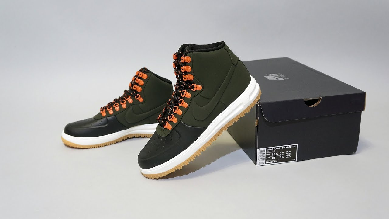 Nike Lunar Force 1 Duckboot  18 Black Sequoia - YouTube 05e9522e8a931