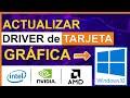 ACTUALIZAR TARJETA GRÁFICA - YouTube