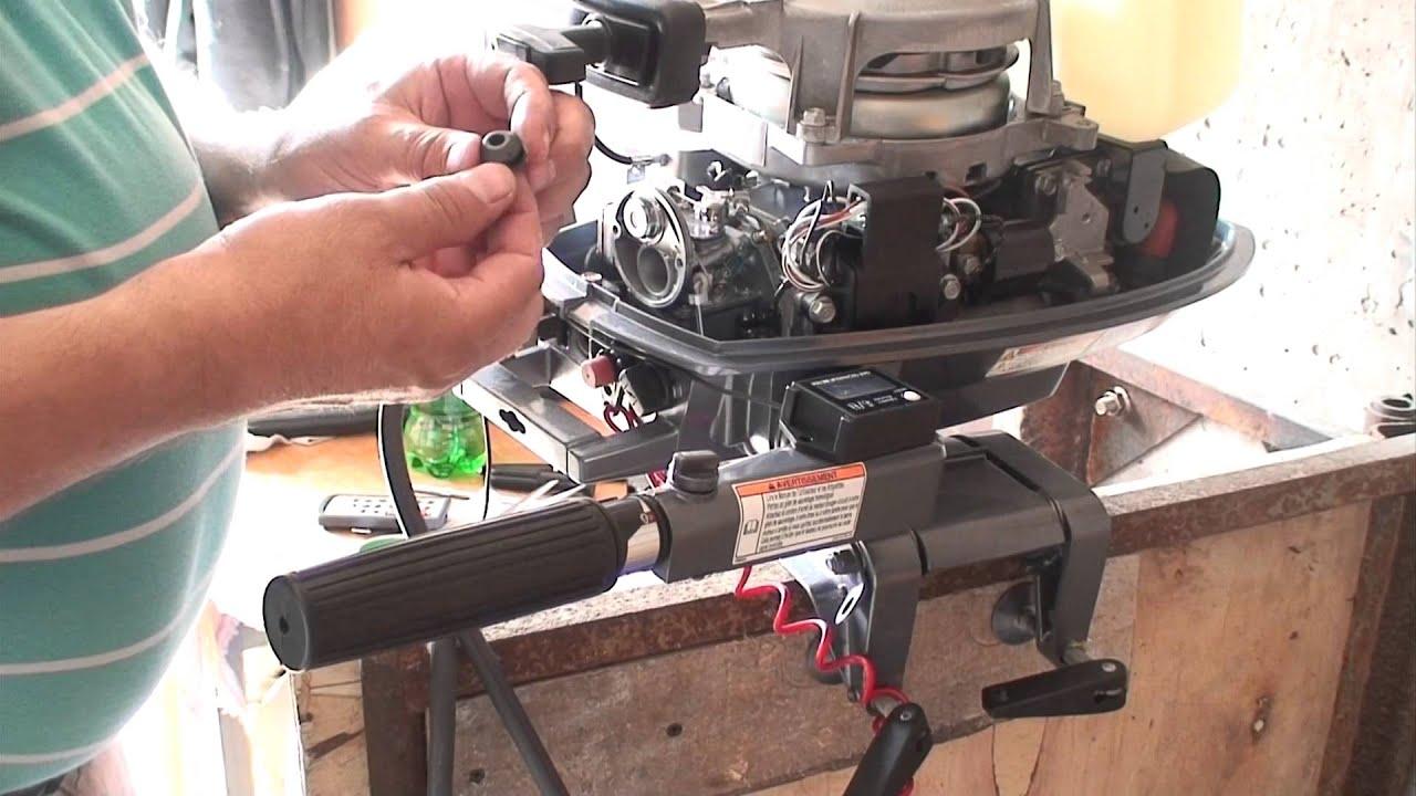 инструкция по разборке лодочного мотора хонда 40