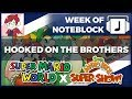 "watch he video of ""Hooked on The Brothers"" Super Mario TV Show Mashup + Stevie"