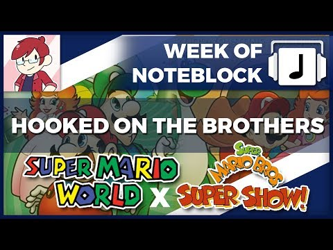 """""""Hooked on The Brothers"""" Super Mario TV Show Mashup + Stevie"""