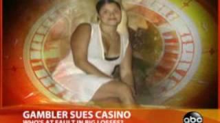 Compulsive Gambler Sues Casino (ABC News report 2008)