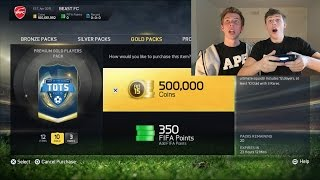 OPENING THE 500K TOTS PACK!! - FIFA 15