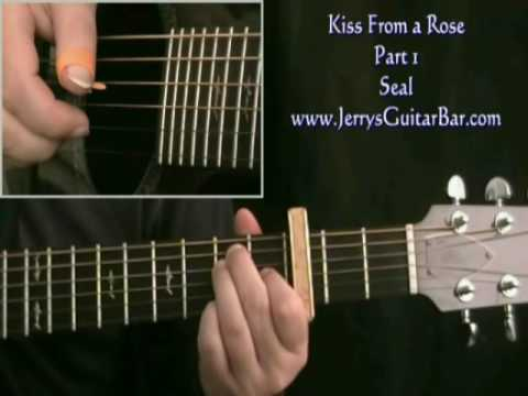 How To Play Seal Kiss From A Rose Intro Only Arr For Acoustic