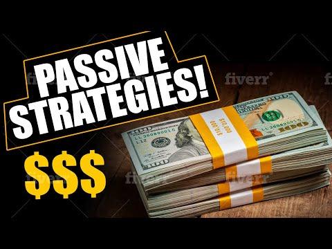 Passive Income Ideas For 2019
