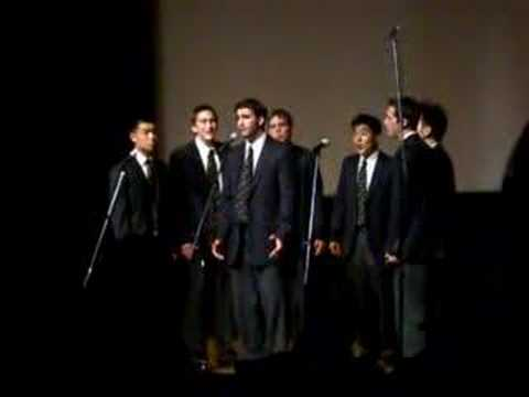 UC Men's Octet - With or Without You