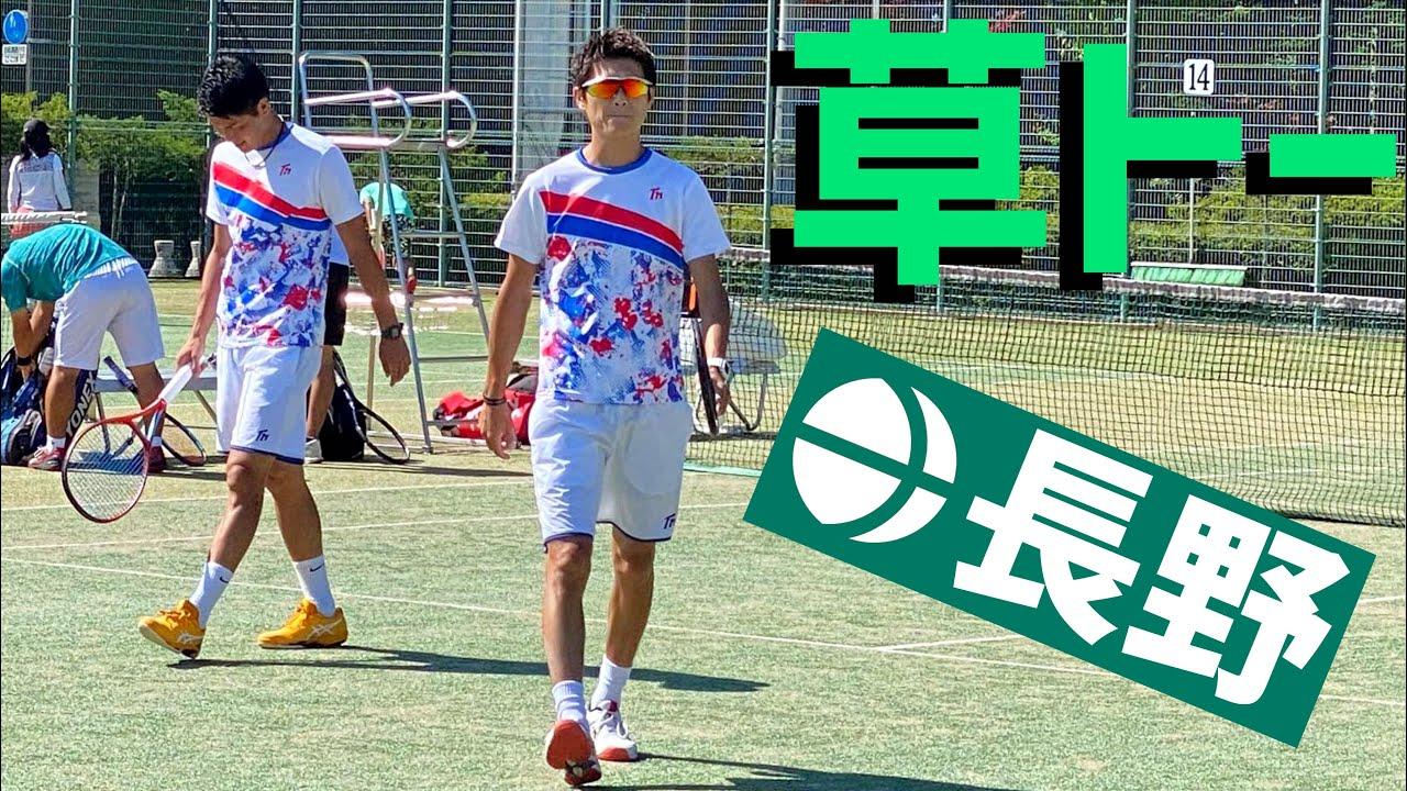 【軽井沢決戦!】長野県で草トー出てみた!【テニス】